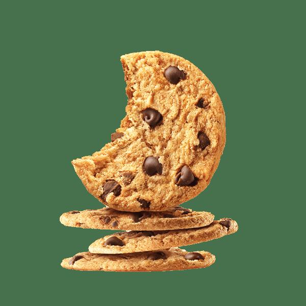 Sausainiai smėlinės tešlos su šokolado gabaliukais, 150g