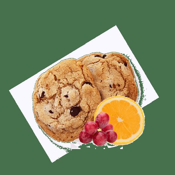 Sausainiai Fruit&Lemon Walkers, 150g