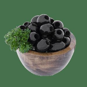 Alyvuogės juodos, be kauliukų, sūryme, 920g