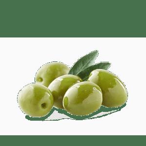 Alyvuogės žalios su kauliukais, didelės, sūryme, 280g