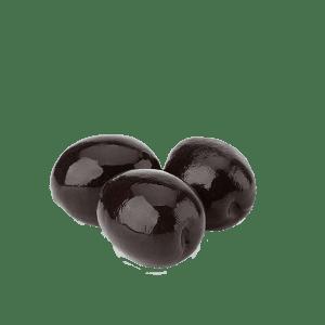 Alyvuogės juodos su kauliukais, didelės, sūryme, 280g