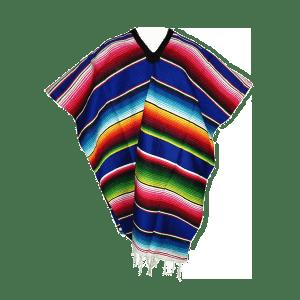 Poncho, meksikietiška tekstilė